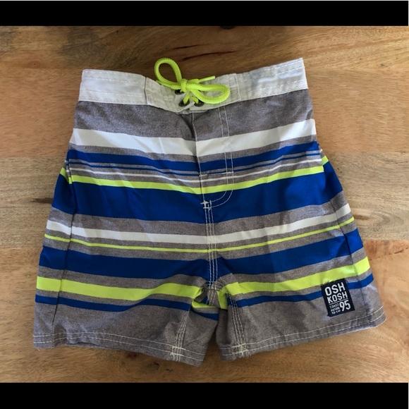 Boys OshKosh B'gosh Assorted Swim Trunks Size 5